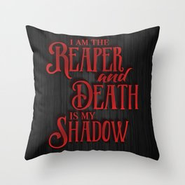 The Reaper - Red Rising Throw Pillow