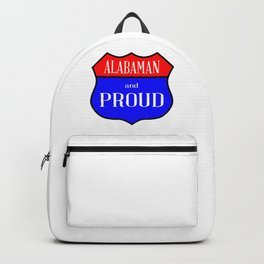 Alabaman And Proud Backpack