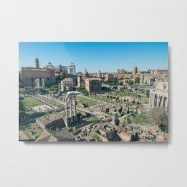 Ancient Forum Metal Print