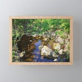 Summer Time Love Framed Mini Art Print
