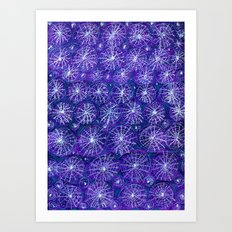 Starry Night Handmade Decoration Art Print