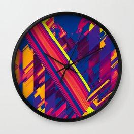 Nuance Crossed Wall Clock