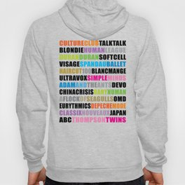 80's new wave band 001 Hoody