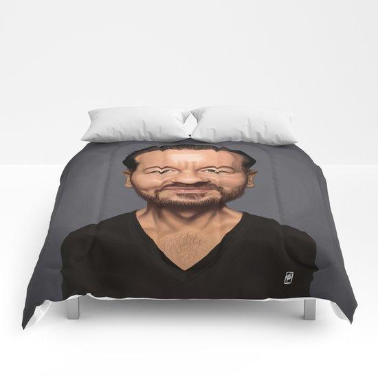 Celebrity Sunday ~ Ricky Gervais Comforters