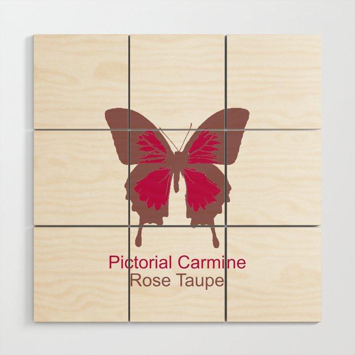 Butterfly 1 Wood Wall Art