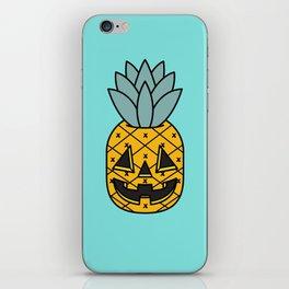 Pineapple Lantern iPhone Skin