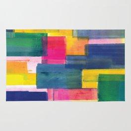 Color Block Series: Rooftops Rug
