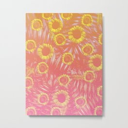 Sunflower Party #4 Metal Print