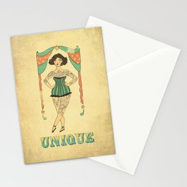 Unique the Tattooed Lady Stationery Cards