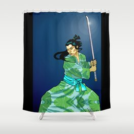 Eternal Samurai I Shower Curtain