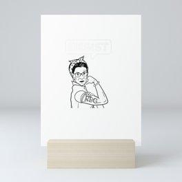 Ruth Bader Ginsburg RBG SCOTUS Resist Premium Mini Art Print