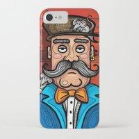 moustache iPhone & iPod Cases featuring Moustache by Manouk van Eesteren