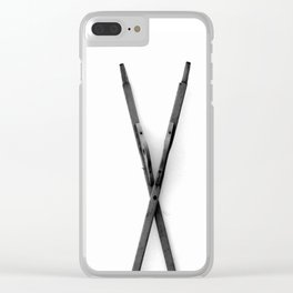 The X Marks The Spot (Sea Version) Clear iPhone Case
