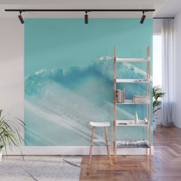 Geode Crystal Turquoise Blue Wall Mural