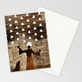 Saint Francis of Assisi Stationery Cards