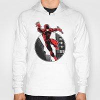 daredevil Hoodies featuring Daredevil by Atom Manhattan