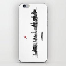 Liverpool City Skyline iPhone & iPod Skin