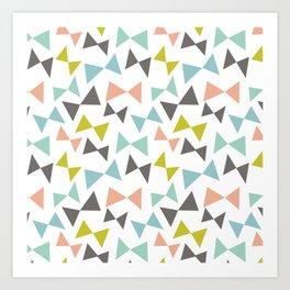 Spring bows Art Print