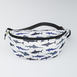 Blue Sharks Fanny Pack