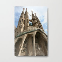 Work in Progress (La Sagrada Familia) Metal Print