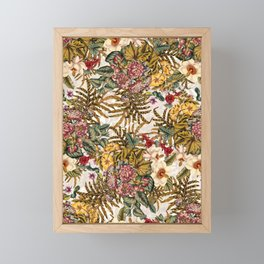 EXOTIC GARDEN XI Framed Mini Art Print