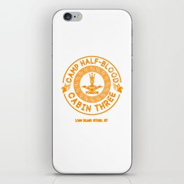 Percy Jackson Camp Half-Blood iPhone Skin