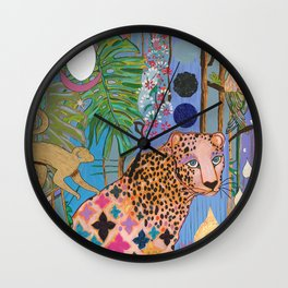 A New Earth Wall Clock