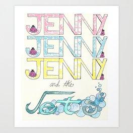 For Jenny Art Print