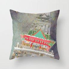 Chukuang house Throw Pillow