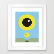 BLUE SOLSTICE Framed Art Print