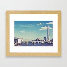 London... Framed Art Print