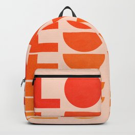 Abstraction_LOVE_SUNSET_Minimalism_001 Backpack
