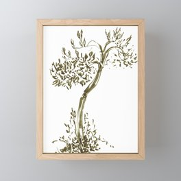 Tree Framed Mini Art Print