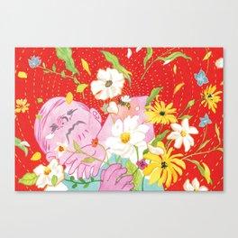 Vermillion Sting Canvas Print