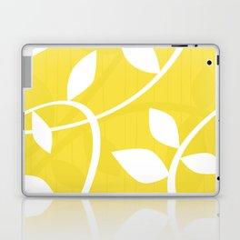 Vine in Yellow by Friztin Laptop & iPad Skin