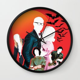 Rocky Horror Picture Show (Original Collage) Wall Clock