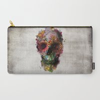 2001 Carry-All Pouches featuring SKULL 2 by Ali GULEC