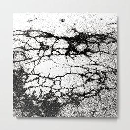 asphalt Metal Print