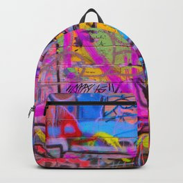 Bright Graffiti Backpack