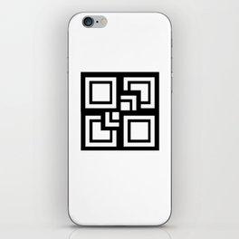 Square Pattern iPhone Skin
