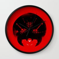 metroid Wall Clocks featuring Super Metroid by Ian Wilding