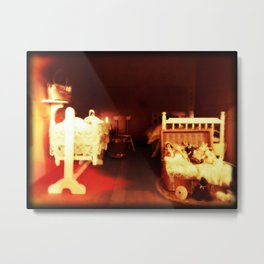 Gates of Hell in the Nursery ... Halloween Horror Metal Print