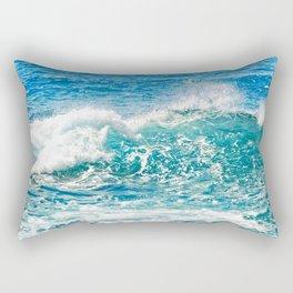 Kashmir Blue Sapphire Rectangular Pillow
