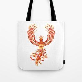 Mythical Phoenix Bird Tote Bag