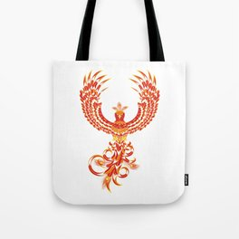 Mythical Phoenix Bird Tote Bag