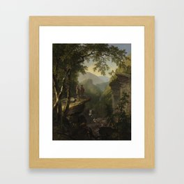 Asher Brown Durand  -  Kindred Spirits Framed Art Print