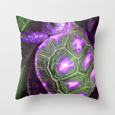 t u r p l e Throw Pillow