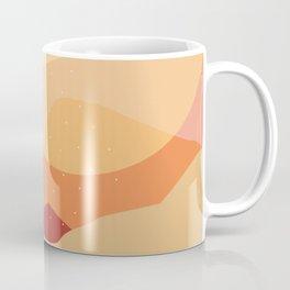 minimalist coral landscape Coffee Mug