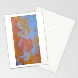 Palette Knife Sketch Stationery Cards