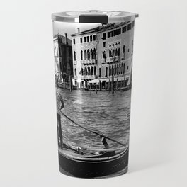 Gondola on the Grand Canal, Venice Travel Mug